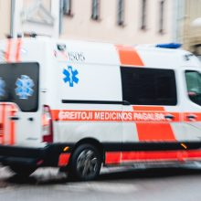 Vilniuje žuvo iš balkono iškritęs vyras