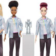 Barbė robotų technikos specialistė nori įkvėpti jaunas mokslininkes