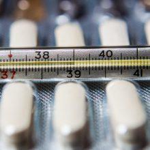 Nors sergamumas gripu mažėja, epidemija – daugiau nei pusėje savivaldybių