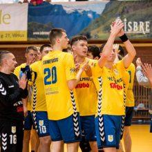 Lietuvos rankinio pirmenybėse – triuškinančios pergalės