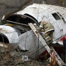 Rusija: Lenkijos lėktuvo katastrofa prie Smolensko įvyko dėl įgulos klaidų