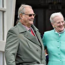 Danijos karalienės vyro plautyje rastas navikas