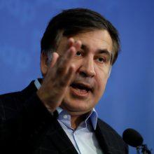 M. Saakašvilis teigia esąs pasirengęs perimti vadovavimą Ukrainos vyriausybei