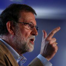 """M. Rajoy tvirtina norintis pradėti """"naują politinę erą"""" Katalonijoje"""