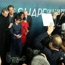 """""""Vandens forma"""" pirmauja varžybose dėl britų BAFTA apdovanojimų"""