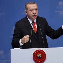 R. T. Erdoganas: teroru gal siekiama paveikti JAV sprendimą dėl kariuomenės išvedimo