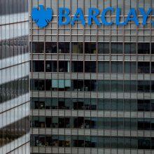 """""""Barclays"""" svarsto Lietuvoje atsisakyti trečdalio darbuotojų"""
