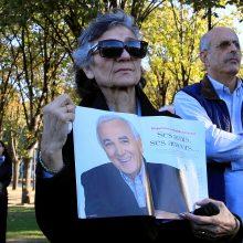 Prancūzija atsisveikina su velioniu dainininku Ch. Aznavouru