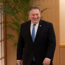 M. Pompeo baigė savo ketvirtąjį vizitą į Šiaurės Korėją