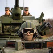 Ekspertai rekomenduoja ginant Baltijos šalis didinti JAV kontingentą Lenkijoje