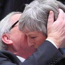 """ES lyderiai: jokių naujų derybų dėl """"Brexit"""" būti negali"""