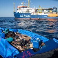 Per dvi laivų avarijas Viduržemio jūroje galėjo nuskęsti apie 170 žmonių