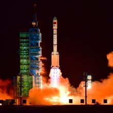 Kinijos kosminė stotis vasarį gali nukristi ant Žemės