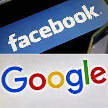"""Tyrimas: """"Google"""" ir """"Facebook"""" naujienų turinys turi būti reguliuojamas"""