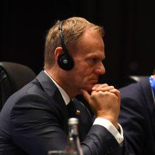 D. Tuskas: įtampa tarp Lenkijos ir Ukrainos bei ES – Kremliaus planas?