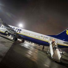 """""""Ryanair"""" neišvengė pirmojo pilotų streiko"""