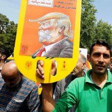 Prancūzija: dėl Irano gilėja skilimas su JAV