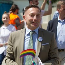"""V. Simonko žada įdomesnes """"Baltic Pride"""" eitynes Lietuvoje, nei šiųmetės Rygoje"""