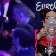 """Laiptais nudardėjusi """"Eurovizijos"""" laimėtoja: dėkoju, kad remiate įvairumą"""