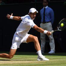 Baigiamajame ATP turnyre - antroji serbo N. Djokovičiaus pergalė
