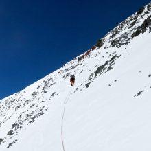 Kopimo į Everestą sezonas baigėsi rekordais