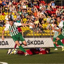"""""""Žalgirio"""" futbolininkai tęsia sėkmingą pasirodymą Europos lygos atrankoje"""
