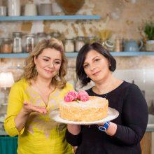 """Atsinaujinusioje laidoje """"Beatos virtuvė"""" – skaniausių tortų rekordas"""