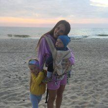 V. Montvydienė – apie motinystę, tobulas atostogas ir vasaros atradimus