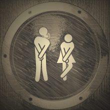 Medikas: neskubėkite tualete nuleisti vandens