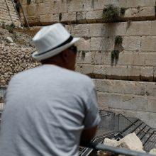 Incidentas Jeruzalėje: nukrito Raudų sienos blokas