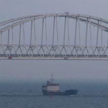 Maskva neigia, kad Rusija tarėsi dėl stebėtojų Kerčės sąsiauryje