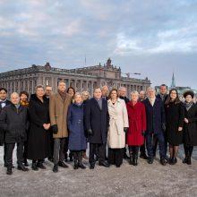 Premjeras S. Lofvenas paskelbė Švedijos naujos vyriausybės sudėtį