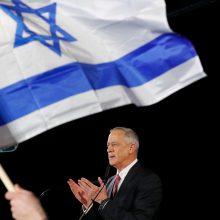 Du pagrindiniai B. Netanyahu varžovai prieš rinkimus suformavo aljansą