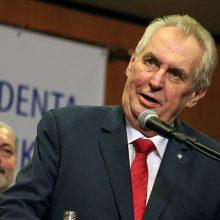 Čekijos vadovas parėmė Rusiją ginče dėl S. Skripalio apnuodijimo