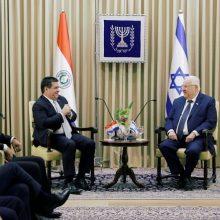 Paragvajus atidarė savo ambasadą Jeruzalėje