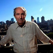 Mirė garsus JAV rašytojas Ph. Rothas
