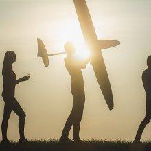 Bepiločių orlaivių entuziastus savaitgalį suburs nemokamas Dronų festivalis