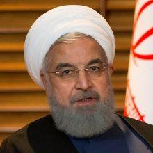 Žiniasklaida: Iranas gali greitai pasitraukti iš branduolinio susitarimo