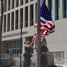 """JAV aukšto rango diplomatai tiria naujausias """"garsines atakas"""" Kuboje"""