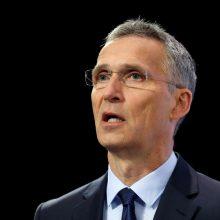 NATO vadovas susirūpinęs dėl Kinijos ir Rusijos raketų