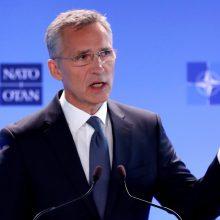 J. Stoltenbergas: pratybas rengiančios NATO ir Rusija turėtų elgtis pagarbiai