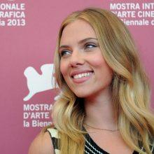 Geriausiai apmokama pasaulio aktorė – S. Johansson
