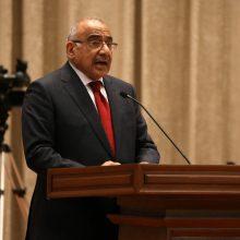 Praėjus penkiems mėnesiams po rinkimų Irakas turi naują premjerą