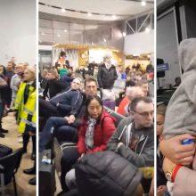 Įkalinti Palangos oro uoste: skrydžio laukė trečdalį paros