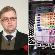 V. Vasiliauskas: naivu būtų tikėtis, kad Lietuvos bankai nepateko į pinigų plovimą