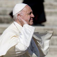 Popiežius įspėja jaunimą dėl populizmo ir primena A. Hitlerį