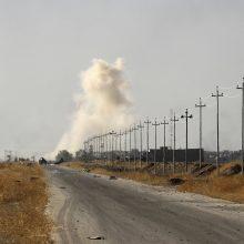 Irake mirtininkui susprogdinus automobilį žuvo 11 žmonių