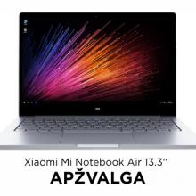 "Nešiojamas kompiuteris ""Xiaomi Mi Notebook Air 13.3"" – ""MacBook Air"" klonas?"