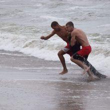 Ant kojų sukeltos tarnybos – Baltijos jūroje skendo žmonės
