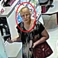 Kaune ieškomas pinigų vagis <span style=color:red;>(ši moteris gali padėti tyrimui)</span>